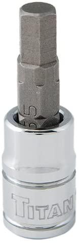 Titan 15601 1/4-Inch Drive x 5.5mm Hex Bit Socket