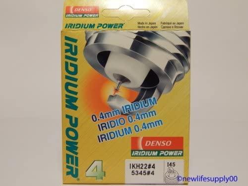 4 PCSNEW -- DENSO # 5345 IRIDIUM Power Spark Plugs -- IKH22