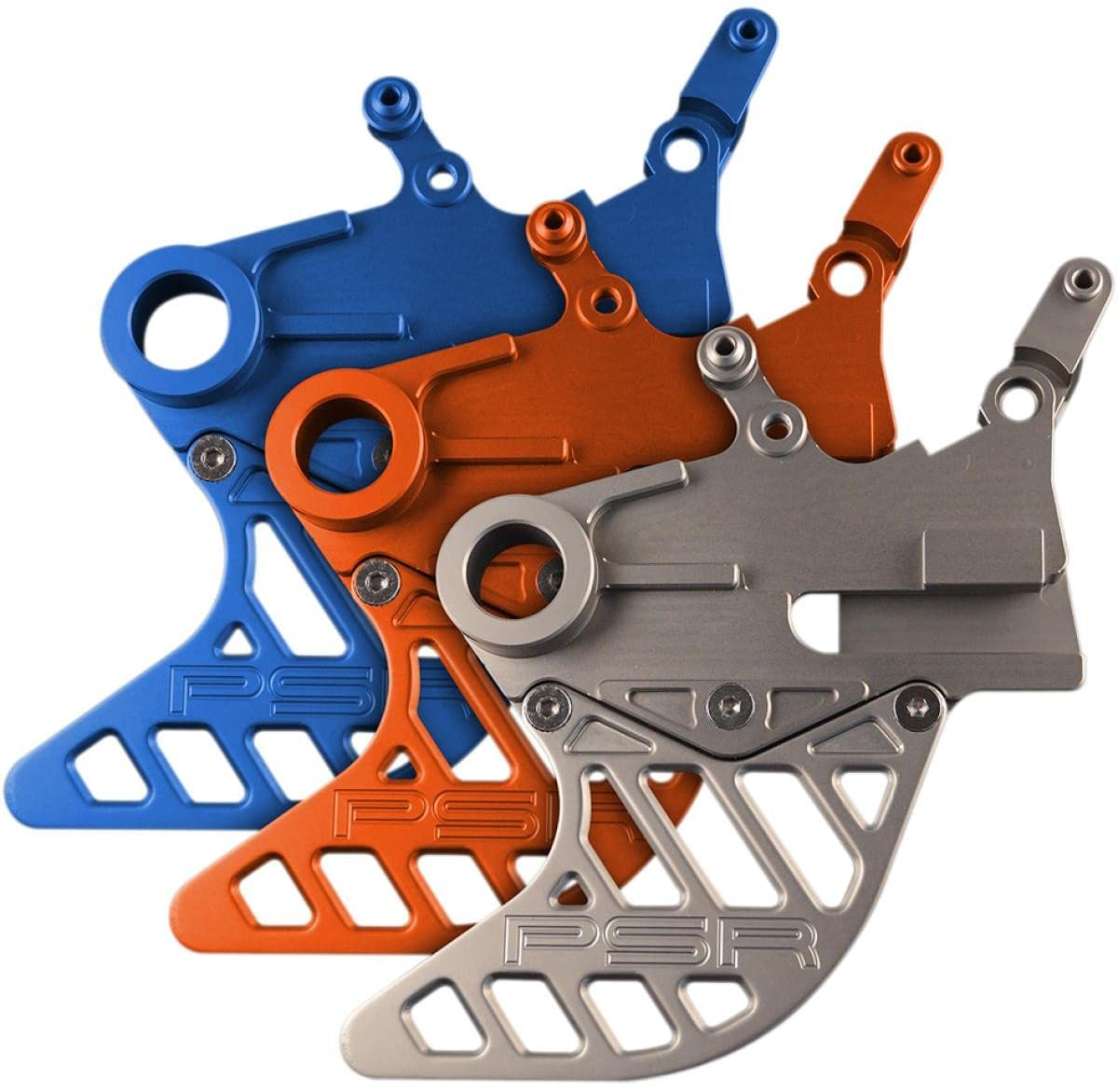Powerstands Racing 080410128 Rear Disc Guard - Orange