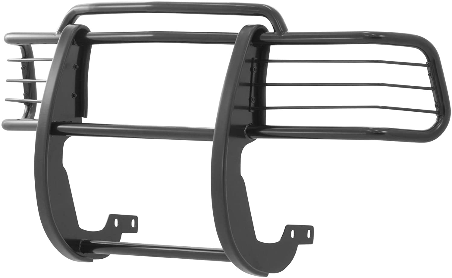 ARIES 4044 1-1/2-Inch Black Steel Grille Guard, No-Drill, Select Chevrolet Blazer, S-10