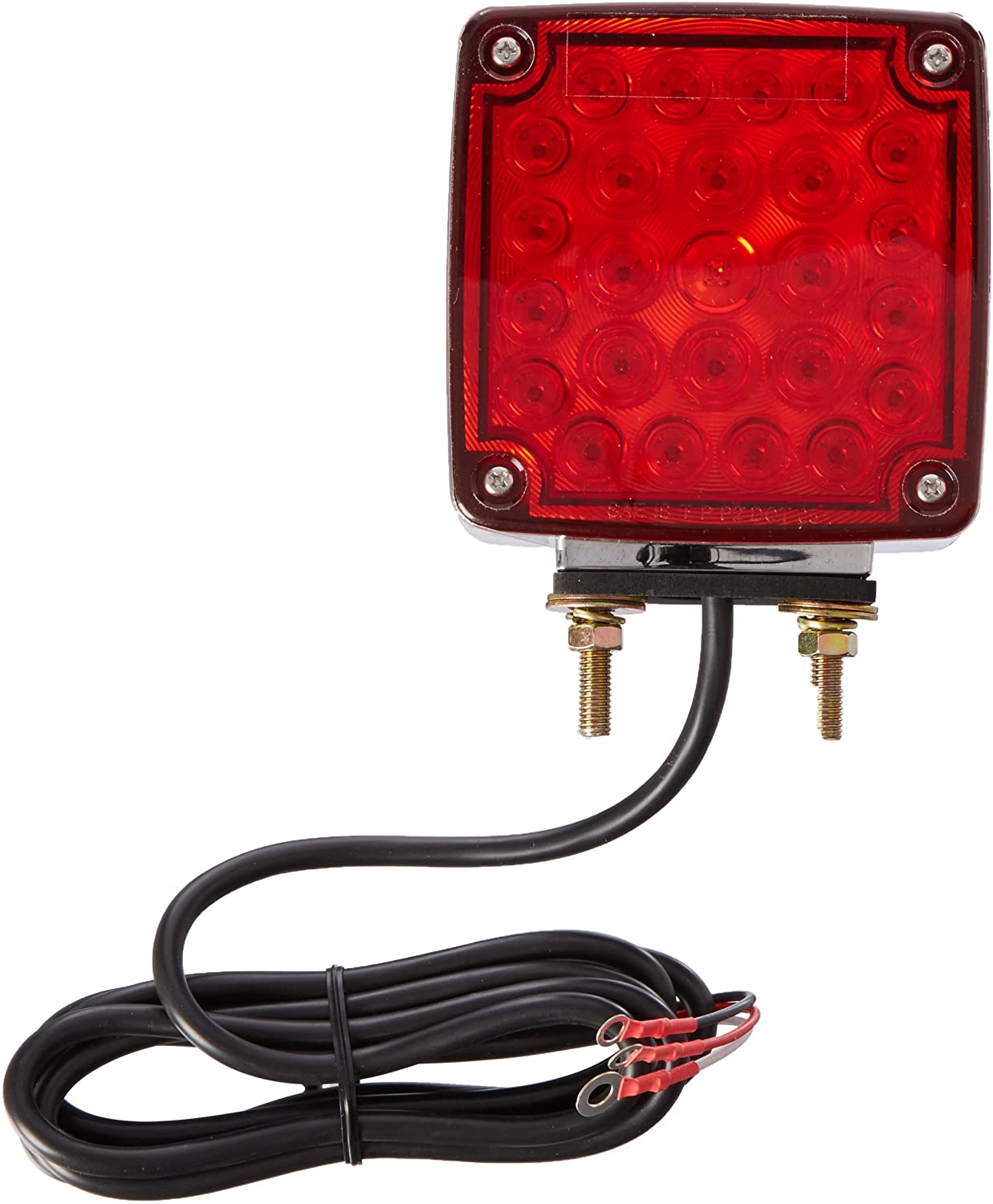 Grote - G5540 Two Sided Lamp, Side Marker, RH, Red/Yellow