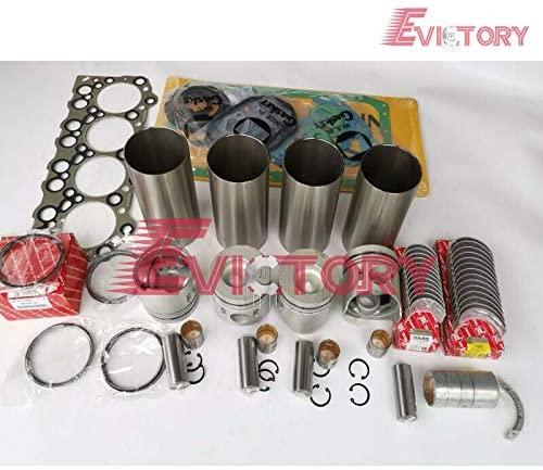 for Engine Rebuild kit 4D31 4D31T Piston Ring Liner Gasket Bearing