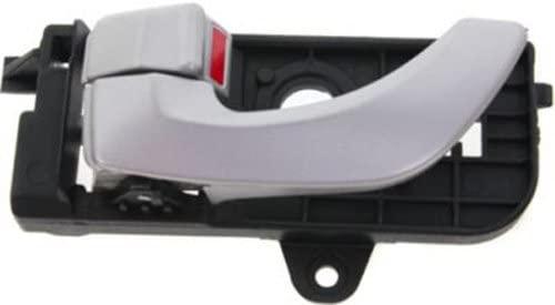CPP Front Driver Side Silver Interior Door Handle for 2006-2007 Hyundai Sonata