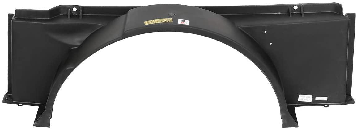 DNA Motoring OEM-RF-0150 GM3110144 Factory Style Radiator Fan Lower Fan Shroud,Black