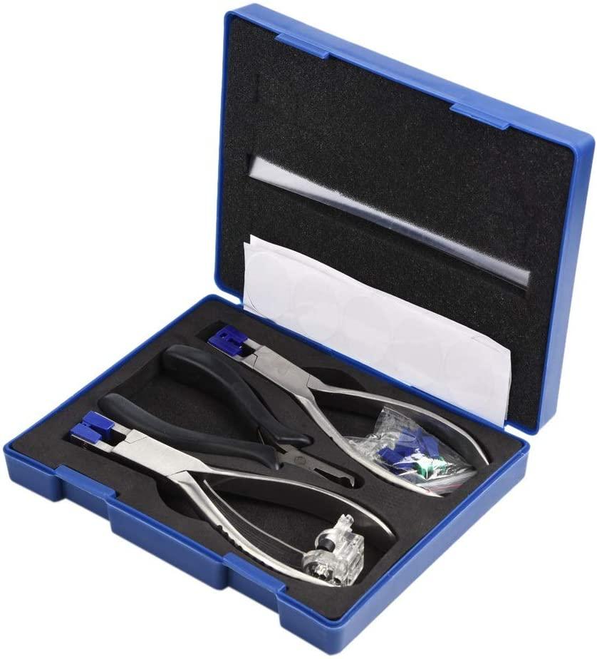 Glasses Plier Kit - Glasses Frame Plier Professional Eyeglasses Plier Set Rimless Disassembly Glasses Frames Optical Tools Kit