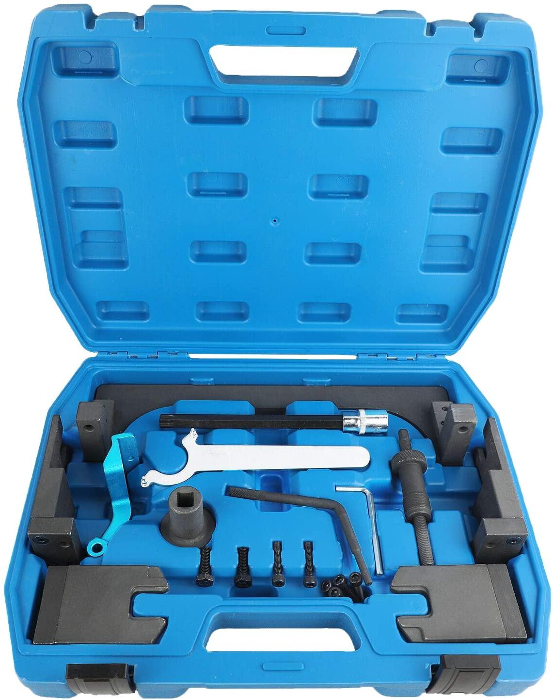 Mrcartool Engine Camshaft Alignment Timing Tool Set for BMW Mini B38 A15 A12 B48 A20 B58