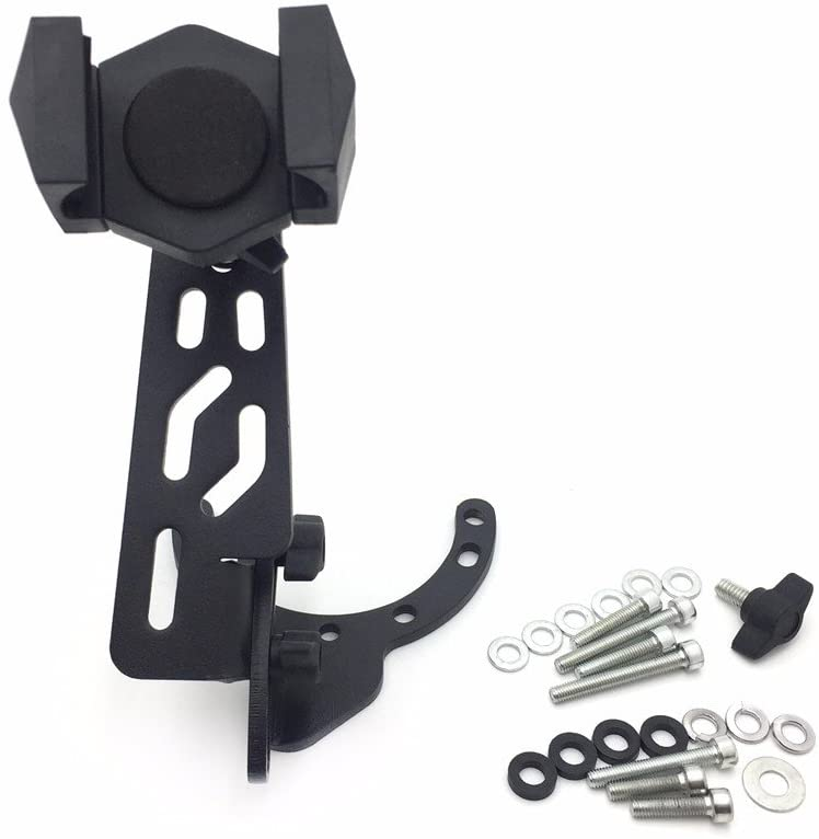 SEMT-Camera/GPS/Cell Phone/Radar Tank Mount With Holder Compatible With Yamaha/Ducati/Triumph/Suzuki Motorcycles - All years with traditional gas caps except GSX-R 1000 (2007-2008) [B074MJG9LP]
