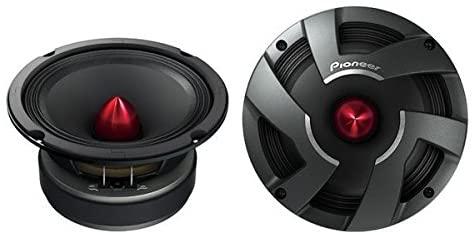 Pioneer TS-M650PRO 6-3/4 PRO Series High Efficiency Mid-Range Car Speakers