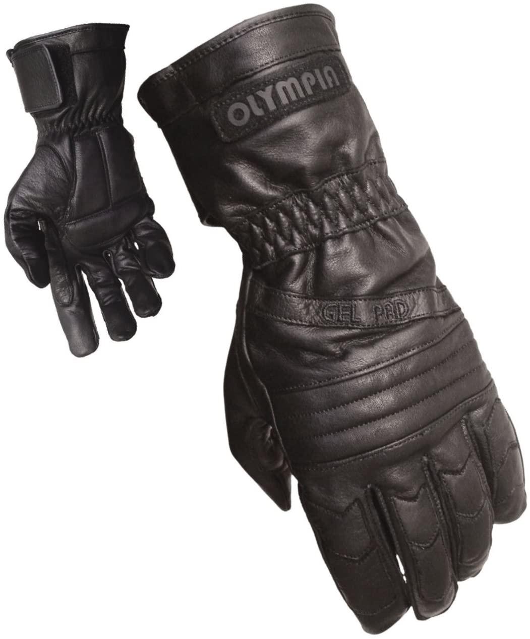 Olympia Sports Mens Gel Sport Gloves (Black, X-Large) - 410 XL