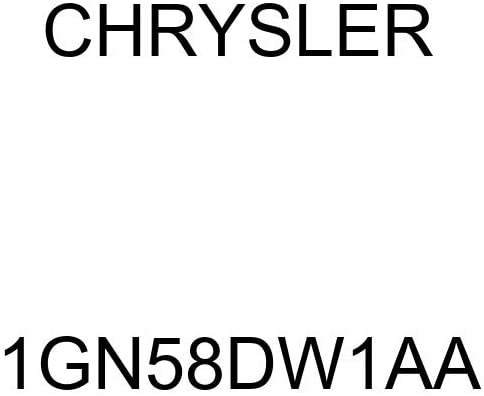 Chrysler Genuine 1GN58DW1AA Overhead Console