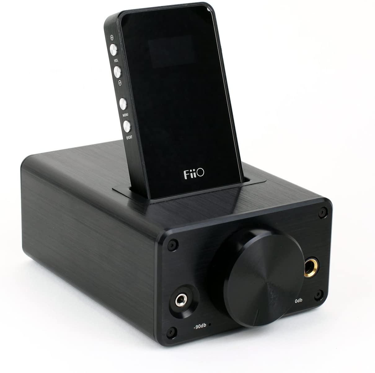 FiiO E9 and E7 Bundle Desktop and Portable Headphone Amplifier with USB DAC