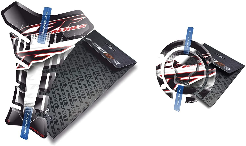 Fooqs Tankpad and Cappad for Honda CBF 500, CBF 600, CBF 650, CBF 900, CBF 1000 New Model (White)