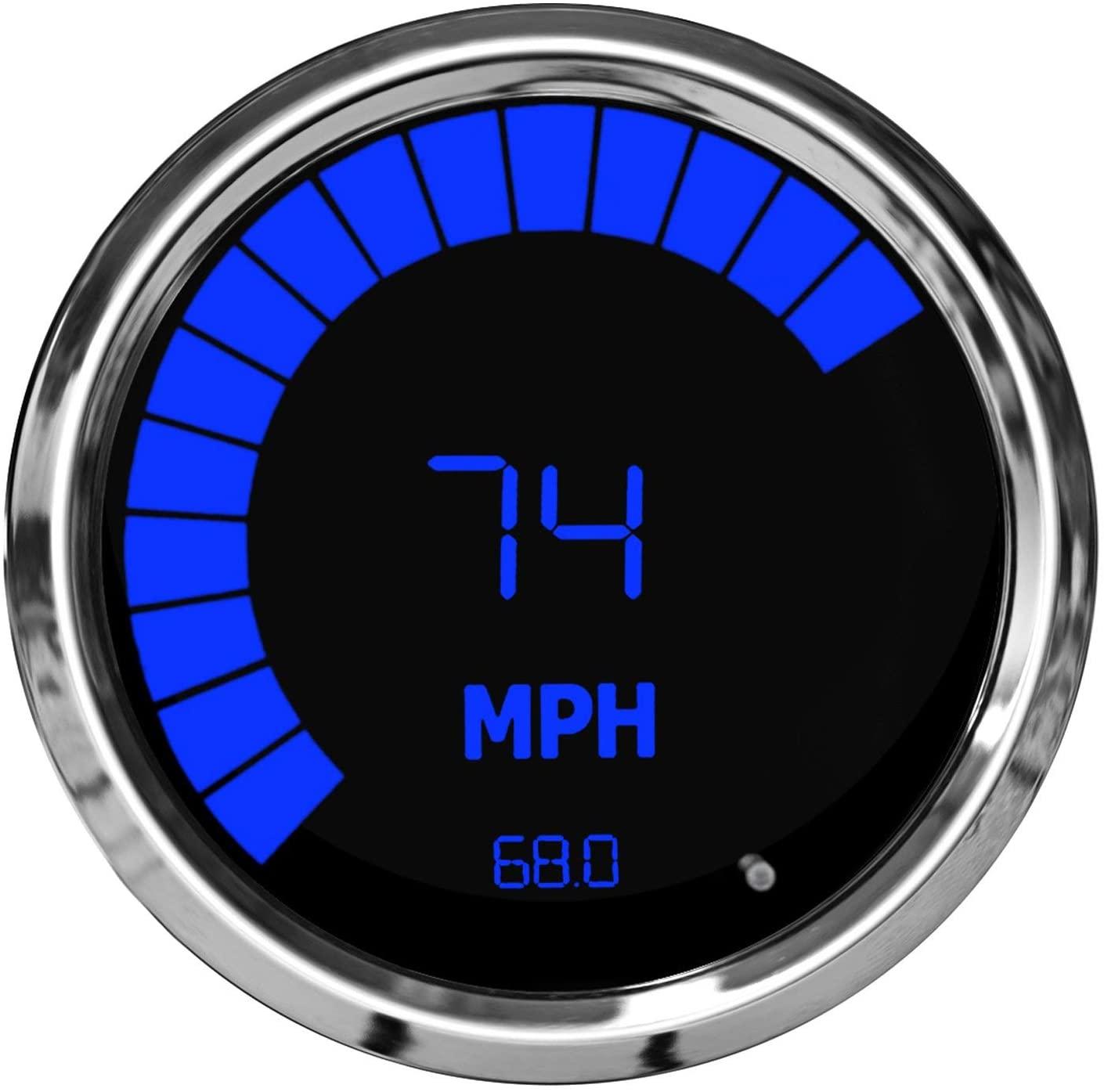 Intellitronx Led Digital Speedo/Tach-Blue-Ch Ms9250b