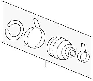 Kia 49508-38650 CV Joint Boot