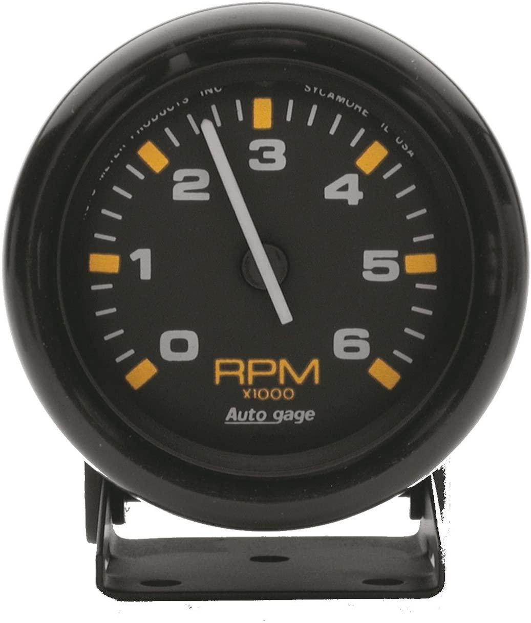 AUTO METER 2306 Autogage Mini Tachometer,2.750 in.