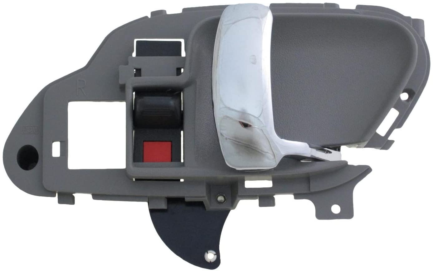 Dorman 88538 Interior Door Handle for Select Cadillac/Chevrolet/GMC Models, Gray and Chrome