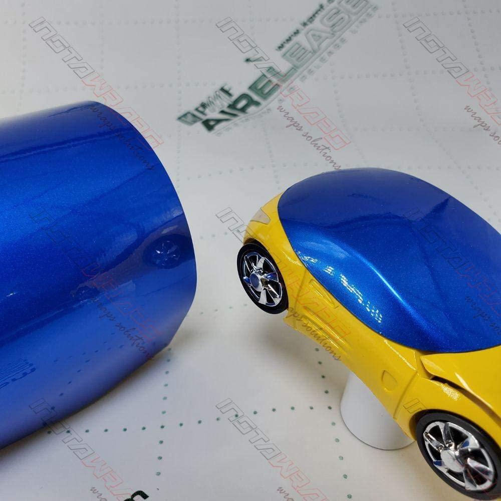 KPMF K75400 Gloss Indulgent Blue | K75405 | Vinyl CAR WRAP Film (Sample 2in x 6in)