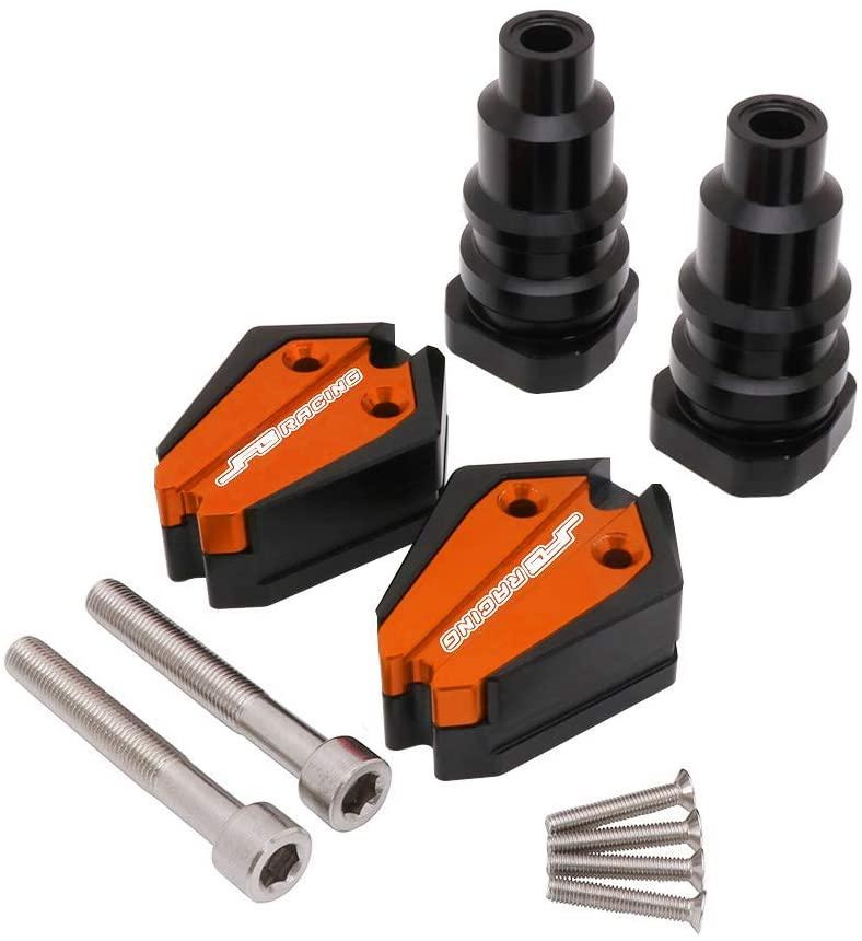 Frame Crash Pad Engine Stator Case Cover Slider Protection Protector For Benelli BJ600 - Orange