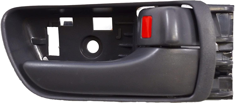 PT Auto Warehouse TO-2533G-FR - Inside Interior Inner Door Handle, Gray (Stone) - Passenger Side Front