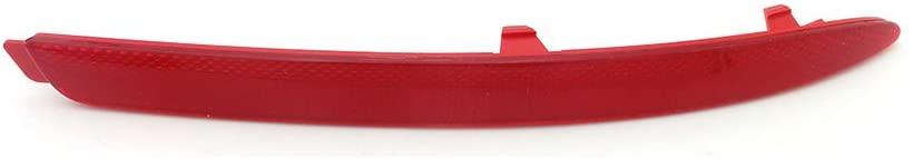 Fit for Skoda 1 Pcs Red Rear Bumper Reflector Lamp Right Passenger Side Generic Octavia 2009-2012