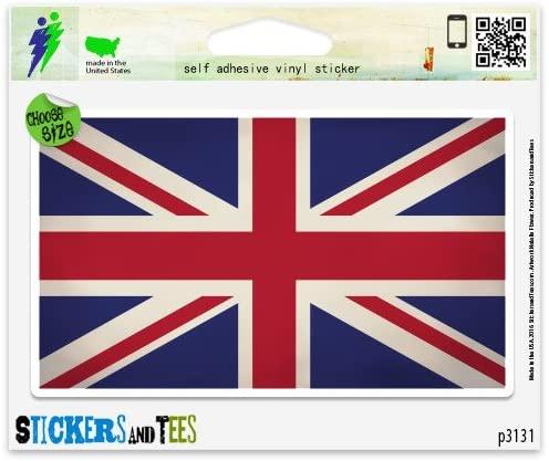 United Kingdom Flag Grunge Design Vinyl Car Bumper Window Sticker 3