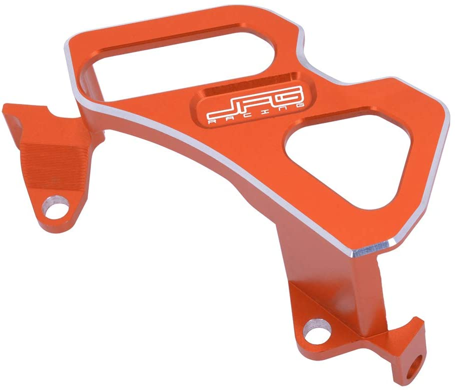 JFG RACING CNC Rear Brake Caliper Guard Cover - Fit For 125-530 SX EXC SXF EXCF XC XCW XCF XCFW SMR Husaberg All Models