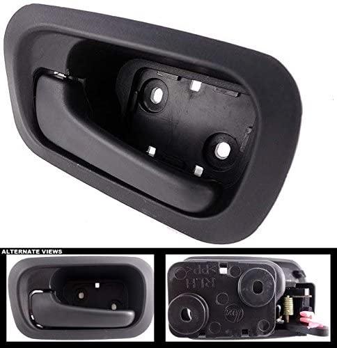 APDTY 93329 Interior Door Handle Rear LH Black