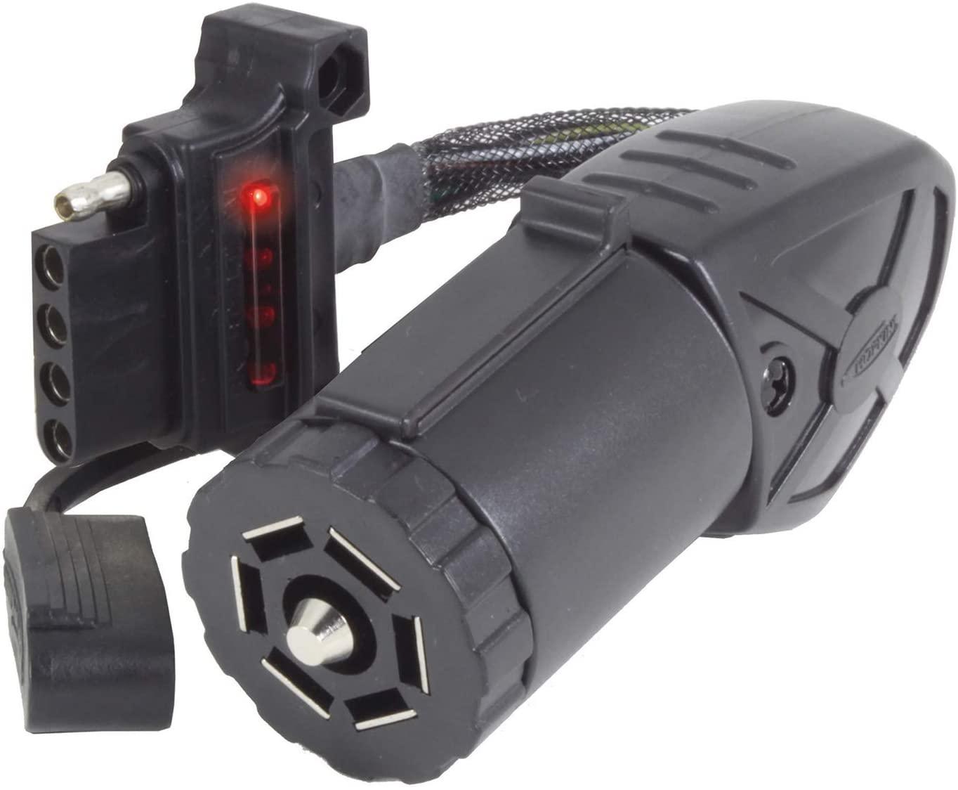 Hopkins 47390 Endurance 7 RV Blade to 5 Flat LED Flex Adapter