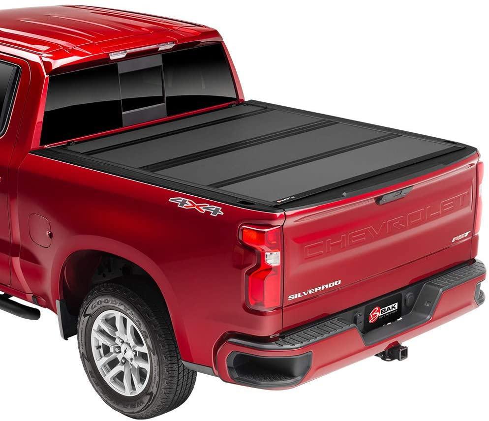 BAK BAKFlip MX4 Hard Folding Truck Bed Tonneau Cover | 448330 | Fits 2017-20 Ford Super Duty 6'9