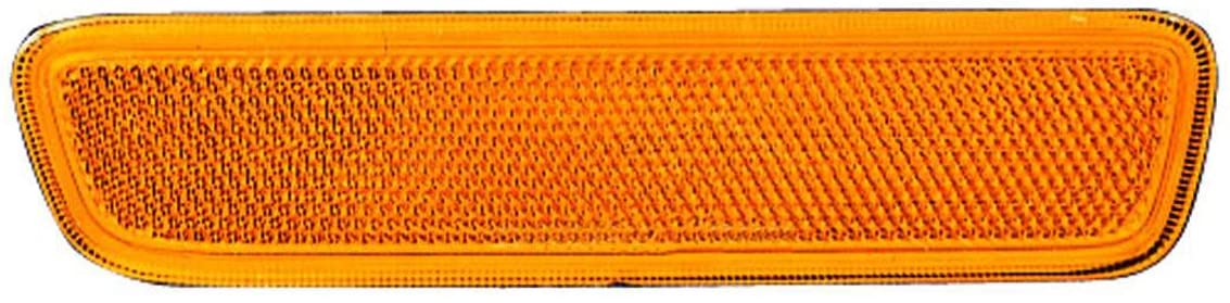 HEADLIGHTSDEPOT Reflector Left Driver Side Front Reflector Compatible With 2004-2008 Chrysler Pacifica