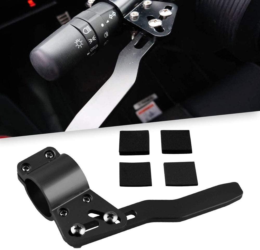 Ruien Aluminium Car Styling Adjustment Steering Wheel Turn Rod Extension Turn Signal Lever Position Up Kit