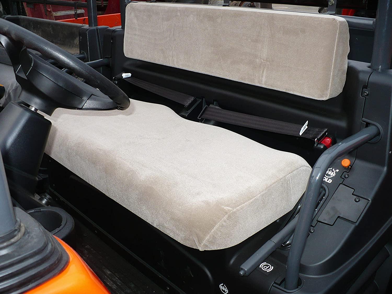 Durafit Seat Covers Kubota RTV 1100/1140 Gray Velour Seat Covers
