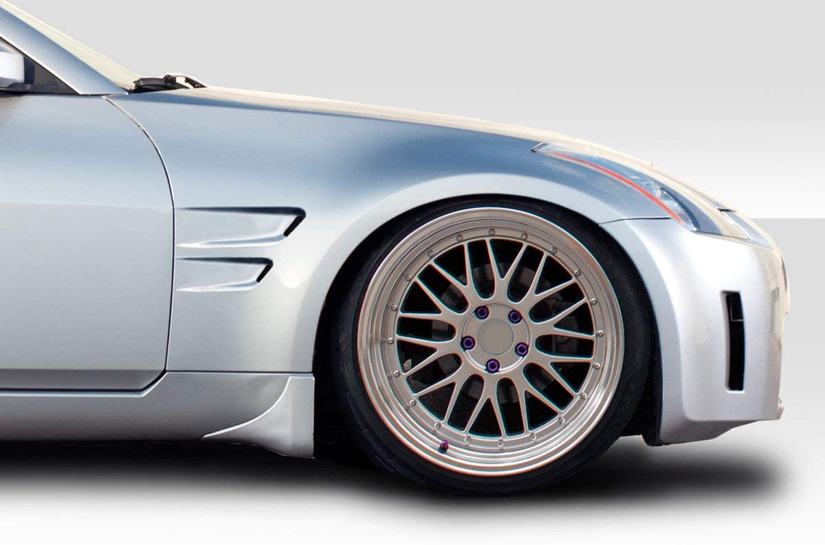 Compatible With/Replacement For Duraflex ED-DAB-519 D-Sport Fender - 2 Piece - Compatible With/Replacement For 350Z 2003-2008