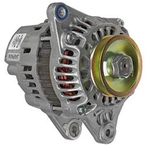 Rareelectrical NEW 12V 40 AMP ALTERNATOR COMPATIBLE WITH SAAB VETUS MITSUBISHI MARINE ENGINE A1T24771 MM409651