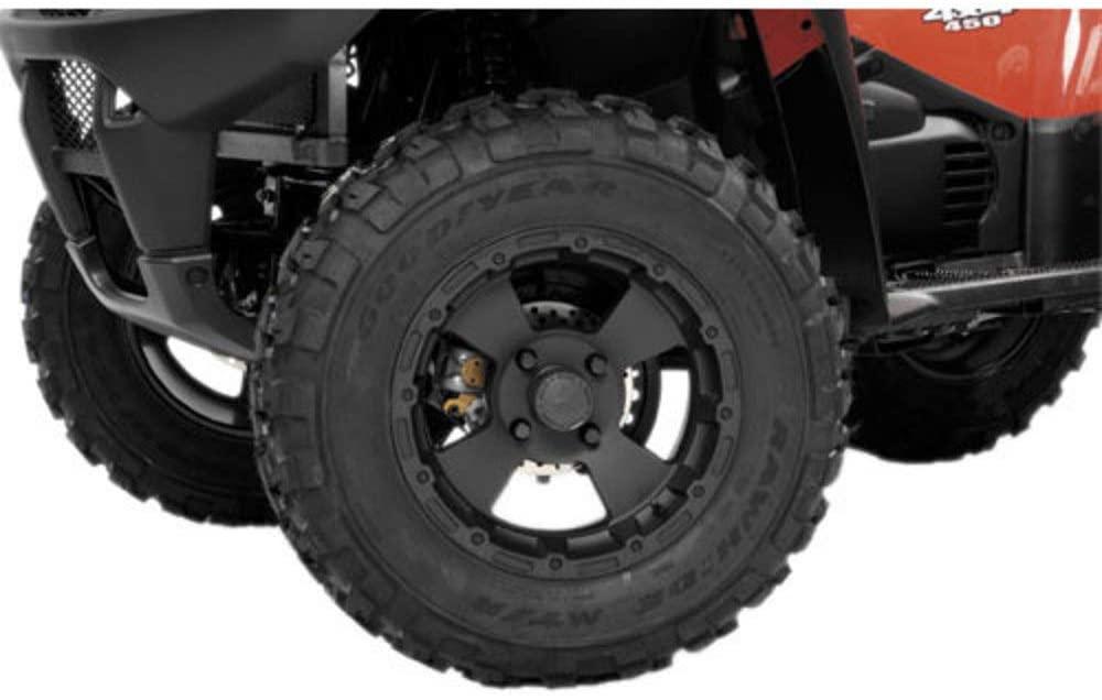Vision Wheel 161-127115B4 Type 161 Bruiser Wheel - 12x7-4+3 Offset - 4/115 - Black