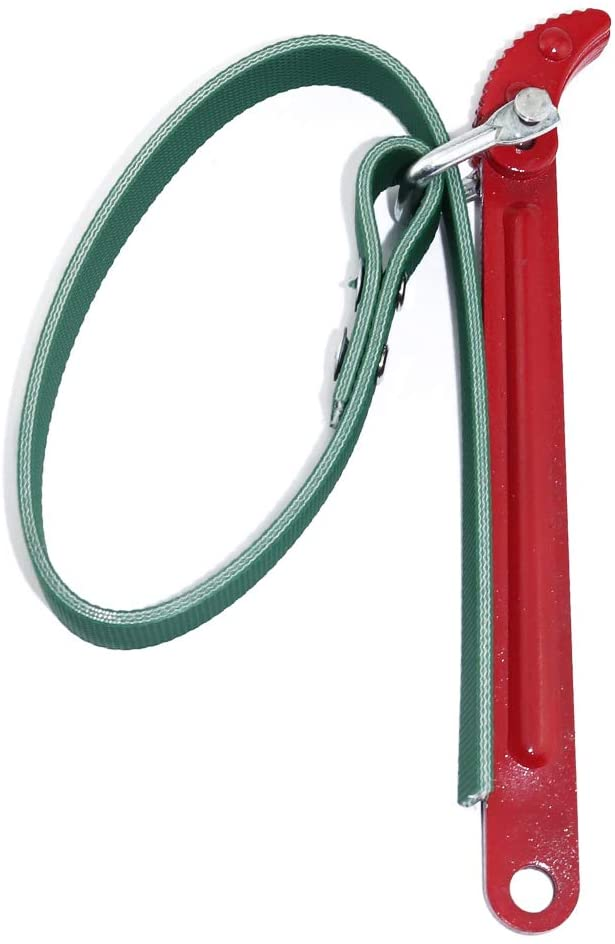 Boeray Multi-Purpose Cartridge Filter Canister Belt Strap Wrench, 19.7