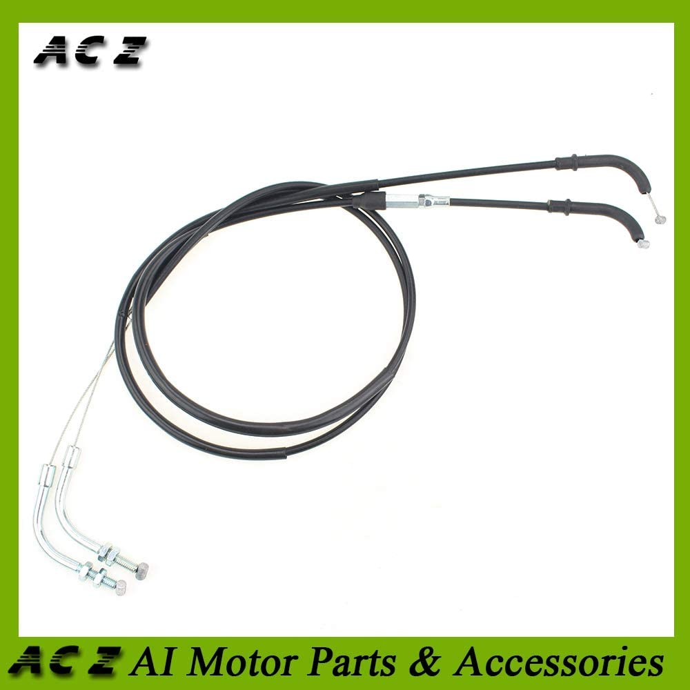 Accessories ACZ Motorcycle Replacement Throttle Cable Line Emergency Throttle Cable Lines Wire for Yamaha XJR400 XJR 400