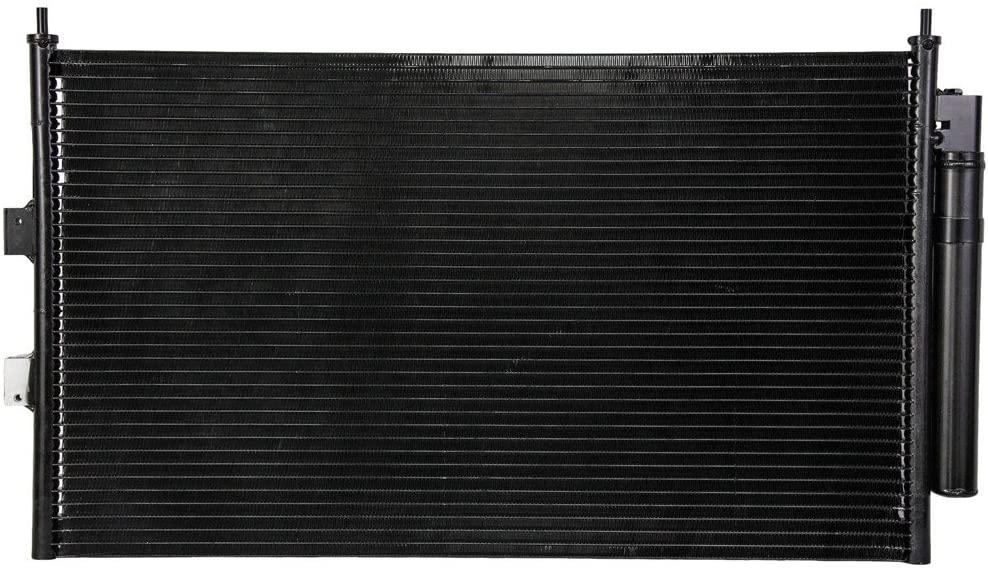 Rareelectrical NEW AC CONDENSER COMPATIBLE WITH HONDA 06-11 CIVIC SEDAN PFC 80110SNAA01 80110-SNA-A42 P40500 P40500 10444 80110SNAA01 80110-SNA-A42 HO3030140
