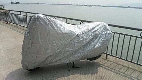 Silver Victory Hammer 05 motorcycle cover XL