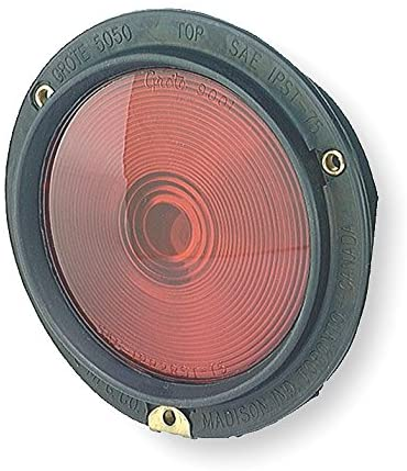 Grote Stop, Tail, Turn Lamp, Rubber Bodied, Red - 50502 (Pack of 2)
