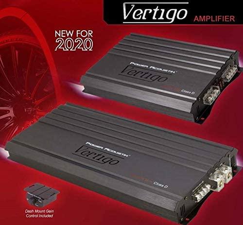 Power Acoustick VA1-1600D 1600W Monoblock Class A/B w/Bass Remote