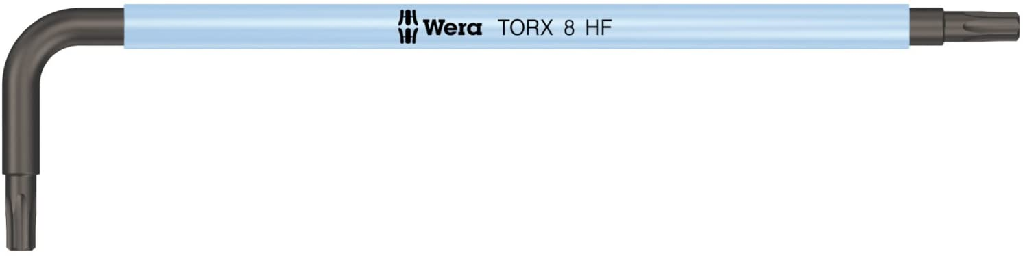 Wera 05024170001 Tx 8x76mm L-Key 967 Sl with Holding Function