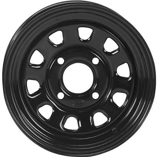 ITP Delta Steel Rear Wheel - 12x7 (2+5 offset) 4/137/Black