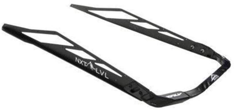 Skinz Protective Gear Rear Aluminum Bumper - Flat Black NXPRB105-FBK