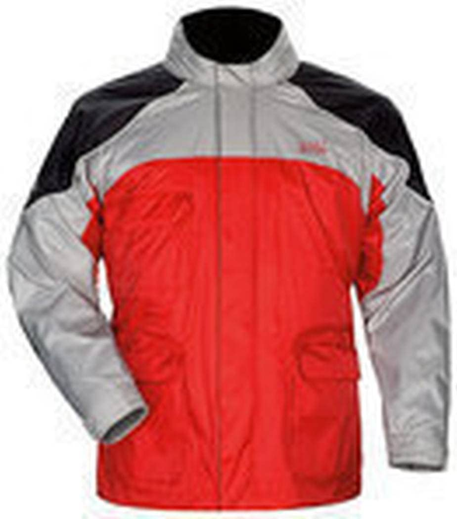 Tour Master Sentinel Men's Jackets Sports Bike Racing Motorcycle Rain Suits - Red / X-Small