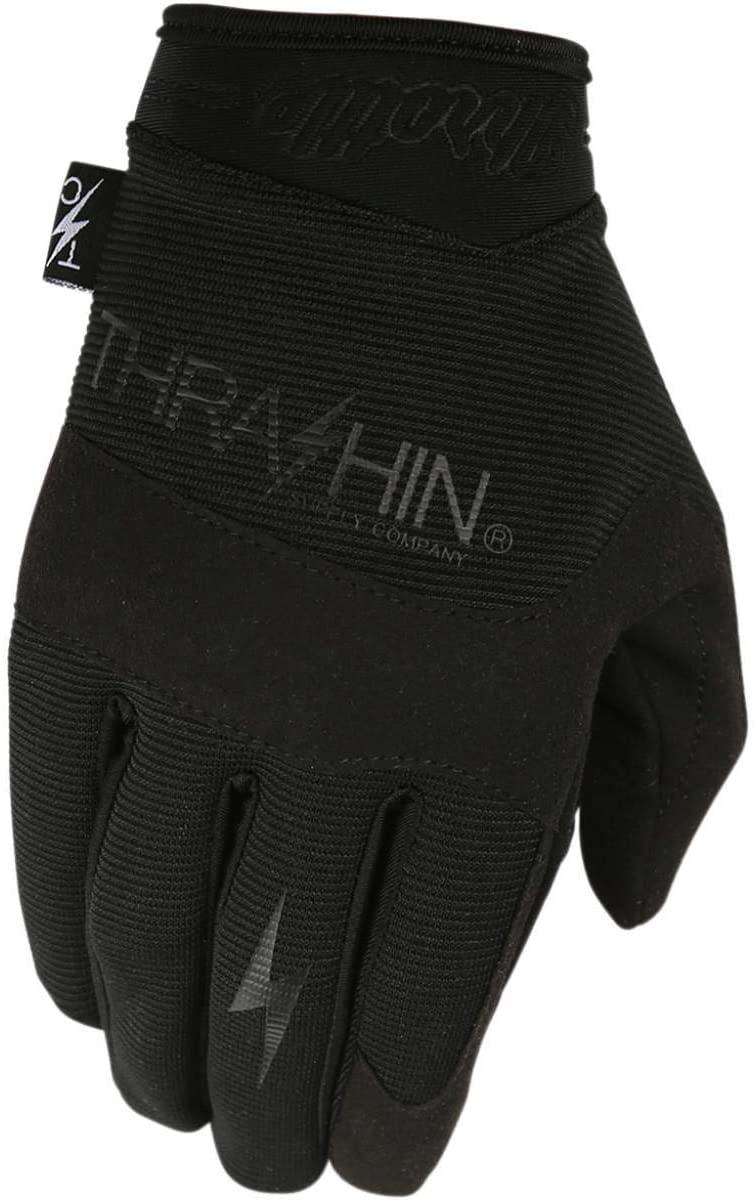 Thrashin Supply Covert V2 Mens Textile Gloves Black/Black XL