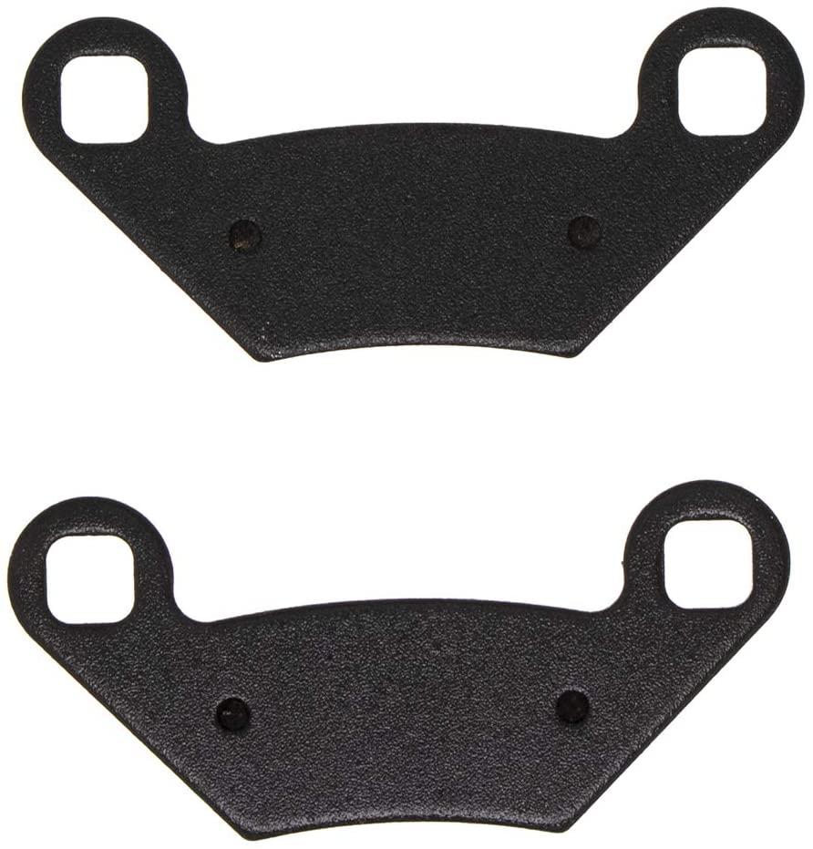 NICHE Brake Pad Set For Polaris Sportsman 400 500 570 800 Scrambler 850 2203628 Front Rear Semi-Metallic