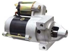 Rareelectrical NEW STARTER MOTOR COMPATIBLE WITH JOHN DEERE MOWER M653 M655 M665 AERCORE AM108390 24-098-01 AM108390 24-098-01