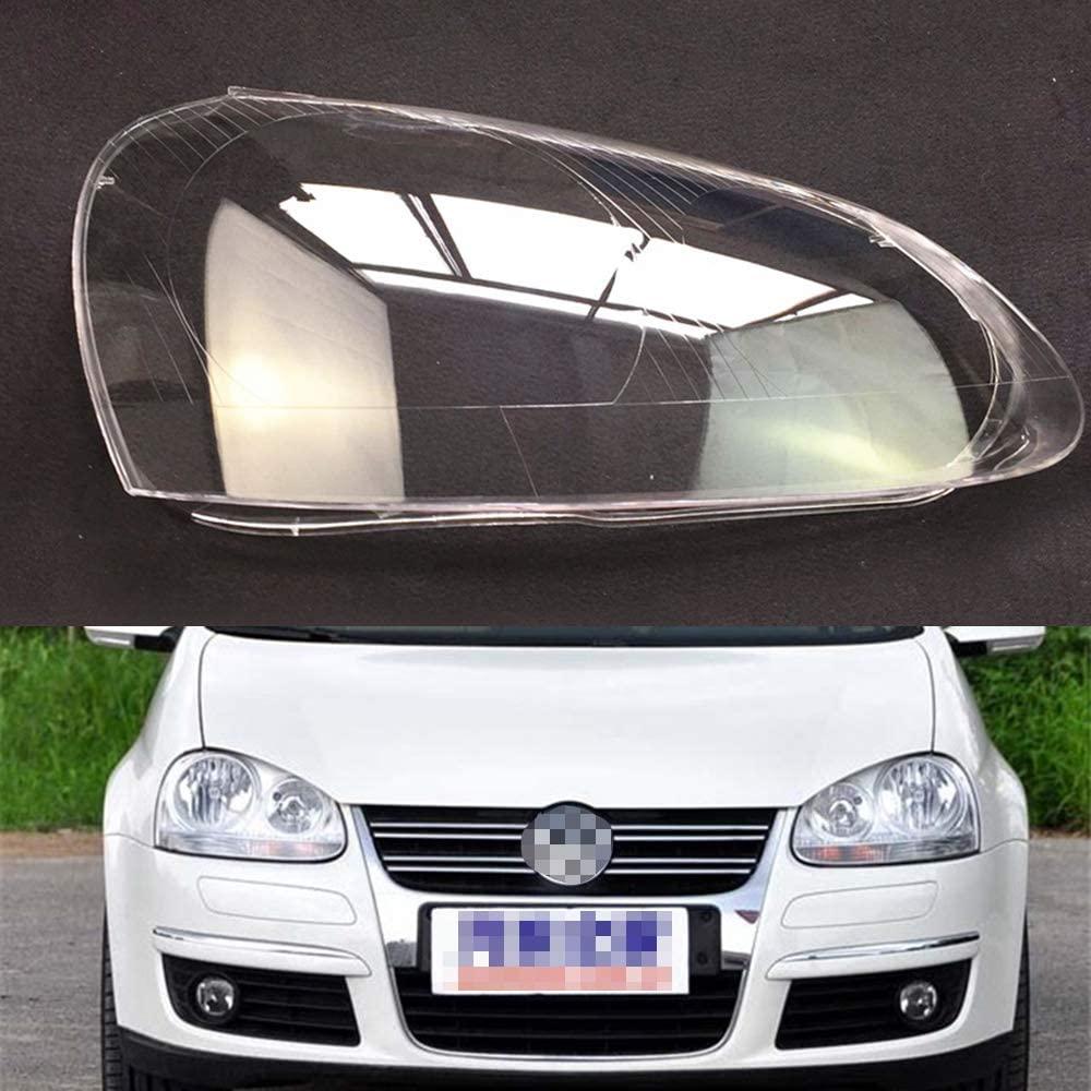 SZSS-CAR for Volkswagen VW Jetta/Sagitar 2006 2007 2008 2009 2010 2011 Car Headlight Headlamp Clear Lens Auto Shell Cover (One Pair)