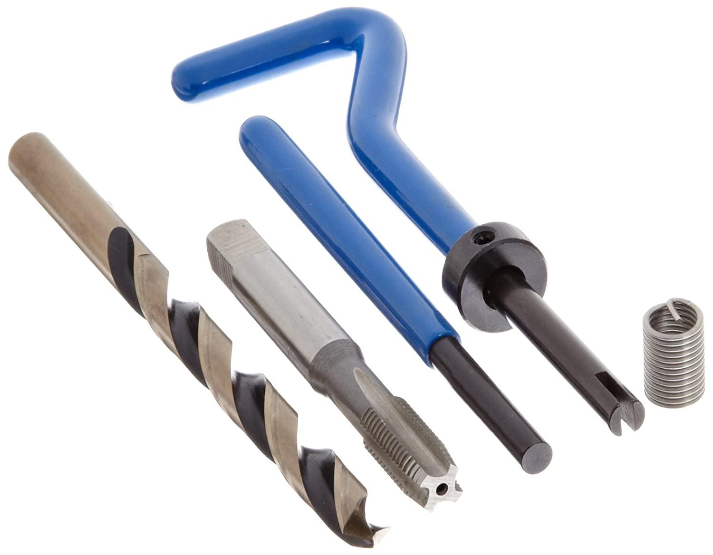 E-Z Lok SK30420 Helical Threaded Insert Kit, 304 Stainless Steel, #6-40 Thread Size, 0.276